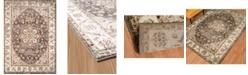 """Asbury Looms Bridges Ponte Vecchio 3001 00494 24 Taupe 1'10"""" x 3' Area Rug"""