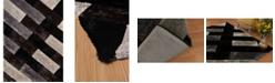 "Asbury Looms Finesse Chichi 2100 21170 24 Black 1'10"" x 3' Area Rug"
