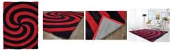 "Asbury Looms Finesse Pinnacle 2100 21730 24 Red 1'10"" x 3' Area Rug"