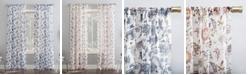 Lichtenberg No. 918 Sarita Floral Print Sheer Curtain Panel Collection