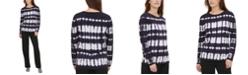 Calvin Klein Tie-Dye Cotton Sweater