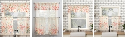 "Lichtenberg Rosalind Floral 54"" x 36"" Semi-Sheer Valance and Tiers Set"