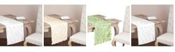 Saro Lifestyle Circle Design Table Runner Or Topper