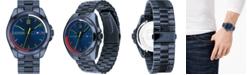Tommy Hilfiger Men's Blue Stainless Steel Bracelet Watch 44mm