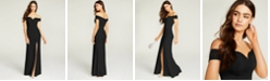 B Darlin Juniors' Off-The-Shoulder Gown