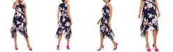 Jessica Howard Petite Floral-Print Midi Dress