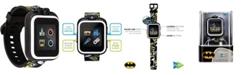 iTouch Kids PlayZoom DC Comics White Batman Strap Touchscreen Smart Watch 42x52mm
