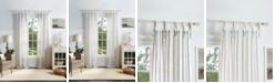 Martha Stewart Collection Martha Stewart Laguna Stripe Tie Tab Curtain Sets