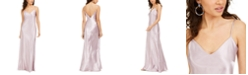 bebe Juniors' Charmeuse Maxi Dress
