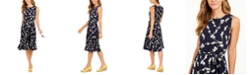 Charter Club Floral-Print Midi Knit Dress, Created for Macy's
