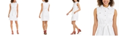 Style & Co Belted Sleeveless Shirtdress, Created for Macy's