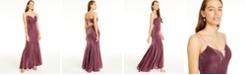 Crystal Doll Juniors' Sherri Glittering Lace-Up Dress
