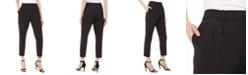 Calvin Klein Petite Slim Windowpane Pants