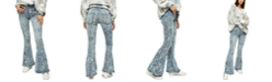 Free People Dream Lover Printed Flare-Leg Jeans