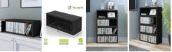 Way Basics Stackable CD Storage Rack