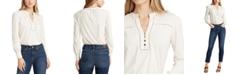 Lauren Ralph Lauren Blouson-Style Cotton-Jersey Top