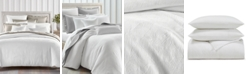 Charter Club Woven Leaves 3-Pc. Full/Queen Comforter Set, Created For Macy's