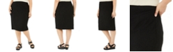 Eileen Fisher Plus Size High-Waist Pencil Skirt