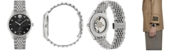 Gucci Men's Swiss Automatic G-Timeless Stainless Steel Bracelet Watch 40mm