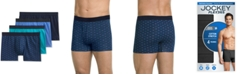Jockey Flex 365 Cotton Stretch Trunk 4 pack