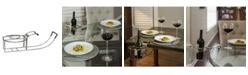 WBYS 2- Piece Chrome Plated Wine Holder Set