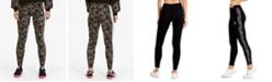 Puma Women's Printed-Stripe Leggings