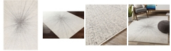 """Abbie & Allie Rugs Chester CHE-2305 Silver 5'3"""" x 7'3"""" Area Rug"""