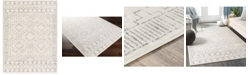 "Abbie & Allie Rugs Roma ROM-2331 White 5'3"" x 7'1"" Area Rug"