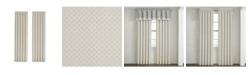 "J Queen New York Garden View 84"" L x 50"" W Window Panel Set, 2 Piece"
