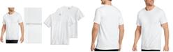 Jockey Men's Flex 365 Cotton Stretch Crew Neck T-Shirt 2 pack