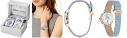 Citizen Citizen Eco-Drive Women's Cinderella 70th Anniversary Blue Leather Strap Watch 32mm, A Limited Edition