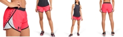 Under Armour Women's Fly By Mesh-Trimmed Shorts