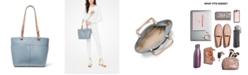 Michael Kors Bedford Pebble Leather Pocket Tote