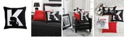 "Karl Lagerfeld Paris Silhouette Decorative Pillow, 18"" x 18"""