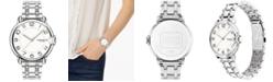 COACH Women's Arden Stainless Steel Bracelet Watch 36nn