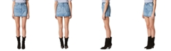 Hudson Jeans Viper Cotton Denim Mini Skirt
