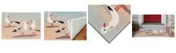 """Liora Manne' Liora Manne Frontporch Gulls Sand 2'6"""" x 4' Area Rug"""