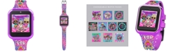 Accutime Kid's LOL Surprise Pink Silicone Strap Smart Watch 46x41mm