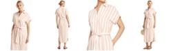 Lauren Ralph Lauren Striped Shirtdress
