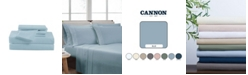 Cannon Heritage Solid Twin XL 4 Piece Sheet Set