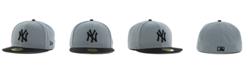 New Era New York Yankees FC Gray Black 59FIFTY Cap