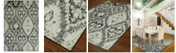 """D Style CLOSEOUT! Menagerie MEN8444 Stone 4'11"""" x 7'5"""" Area Rug"""