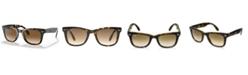 Ray-Ban Sunglasses, RB4105 FOLDING WAYFARER