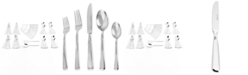 J.A. Henckels Zwilling Metrona 18/10 Stainless Steel 62-Pc. Flatware Set, Service for 12, Created for Macy's