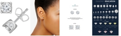 TruMiracle Diamond Stud Earrings (5/8 ct. t.w.) in 14k Gold or White Gold