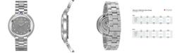 Bulova Women's Rubaiyat Diamond (1/4 ct. t.w.) Stainless Steel Bracelet Watch 35mm