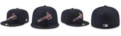 New Era Atlanta Braves Batting Practice Pro Lite 59FIFTY Fitted Cap