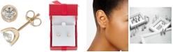 Macy's Diamond Tension Stud Earrings (1 ct. t.w.)