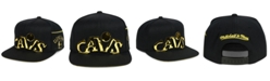Mitchell & Ness Cleveland Cavaliers Patent Cropped Snapback Cap