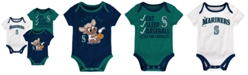 Outerstuff Seattle Mariners Play Ball 3-Piece Set, Infants (12-24 Months)